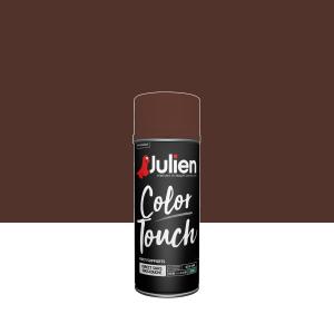 Aérosol Color Touch - Peintures Julien - Satin - Brun Châtaigne - 0.4 L