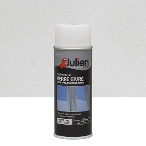 Aérosol peinture effet verre givré - Julien - 400 ml