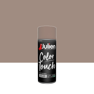 Aérosol Color Touch - Peintures Julien - Satin - Taupe - 0.4 L