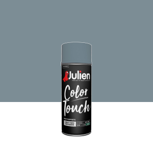Aérosol Color Touch - Peintures Julien - Satin - Bleu gris - 0.4 L