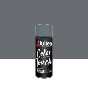 Aérosol Color Touch - Peintures Julien - Satin - Anthracite - 0.4 L