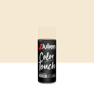 Aérosol Color Touch - Peintures Julien - Satin - Blanc cassé - 0.4 L