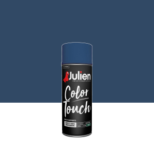 Aérosol Color Touch - Peintures Julien - Satin - Marine - 0.4 L