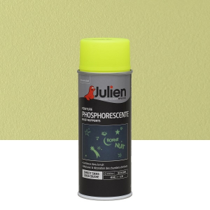 Aérosol peinture phosphorescente multi-supports - Julien - 400 ml