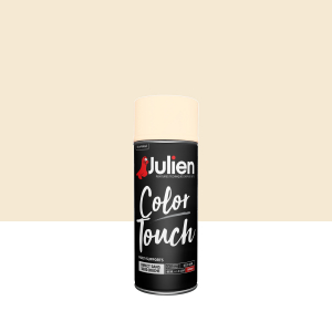 Aérosol Color Touch - Peintures Julien - Brillant - Blanc cassé - 0.4 L