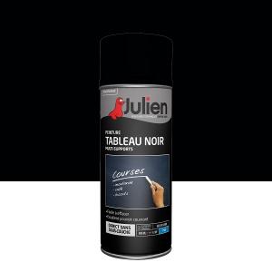 Aérosol peinture tableau noir multi-supports - Julien - 400 ml