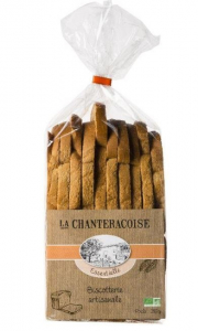 Biscottes Essentielle Bio - La Chanteracoise - nature - 280 gr