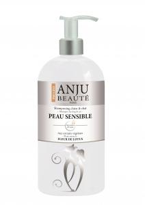 Shampooing Peau Sensible - Anju Beauté - Fleurs de Lotus - 750 ml