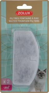 Filtres pour fontaine à eau chat x 2 - Zolux