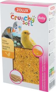 Crunchy Soft Baby 150 g Zolux - Pâtée d'élevage pour oiseaux domestiques