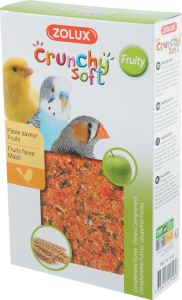 Crunchy Soft Fruity 150 g Zolux - Pâtée d'élevage pour oiseaux domestiques