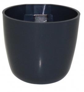 Pot magnétique boule - Kalamitica - Plomb - 6 cm