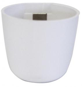 pot magnétique boule- Kalamitica - Blanc - 6 cm