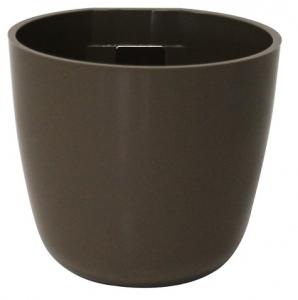 pot magnétique boule - Kalamitica - taupe - 6 cm