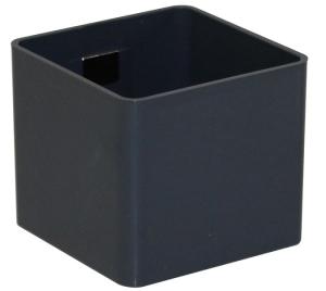 Pot magnétique cube - Kalamitica - Plomb - 6 cm