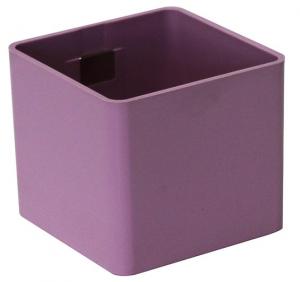 Pot magnétique cube - Kalamitica - Rose - 6 cm