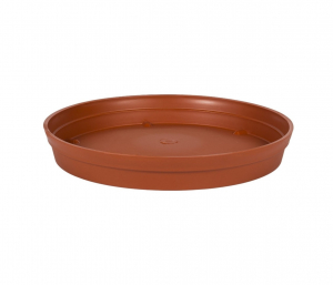Soucoupe pour Pot rond Toscane - Ø 34,5 cm - Orange Potiron