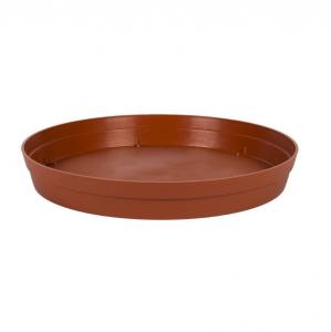 Soucoupe pour Pot rond Toscane - Ø 40,5 cm - Orange Potiron