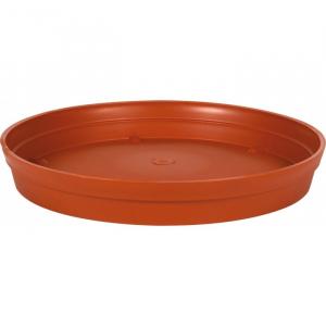 Soucoupe pour Pot rond Toscane - Ø 22,5 cm - Orange Potiron