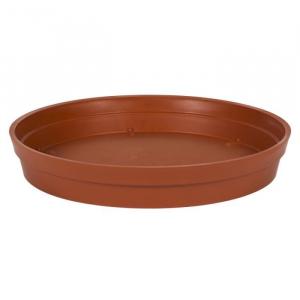 Soucoupe pour Pot rond Toscane - Ø 28 cm - Orange Potiron