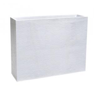 Jardinière Loft XL Graphit - 100 x 30 cm - Blanc cérusé