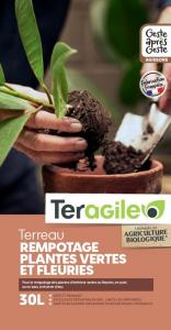 Terreau rempotage plantes UAB Teragile BIOLANDES PIN DECOR - 30 L