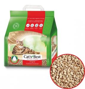 Litière original - Cat's Best - fibre de bois - 20 L