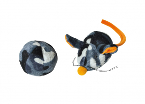 Duo balle souris - Martin Sellier - Ø 4,5 cm et 8 cm