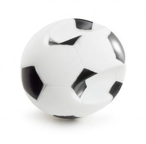 Balle de foot en vinyle avec poignées - Martin Sellier - 10,5 cm