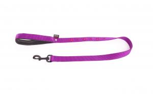 Laisse Croix violet - Martin Sellier - 25 mm x 100 cm