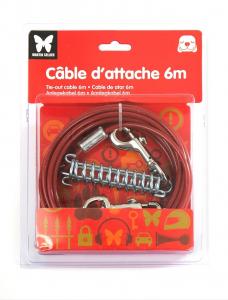 Câble d'attache pour chien - Martin Sellier - 6 m