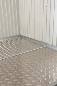 Plaque de fond en aluminium - pour abri de jardin Highline et Panorama - taille 5