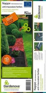 "Nappe Anti-mauvaises herbes ""Performance Plus"" - Gardenova - 15 m²"