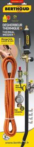 Désherbeur thermique à gaz - Berthoud - gaz + tuyau 5 m - 2 brûleurs