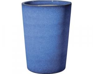 Pot haut Flamenco - Deroma - Azul - H 25 cm - Ø 19 cm