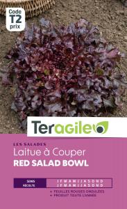 Laitue à couper red salad bowl - Graines - Teragile