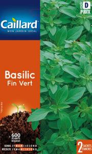 Basilic fin vert - Graines - Teragile