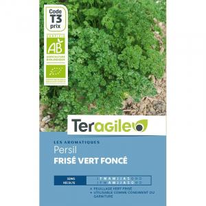 Persil frisé vert foncé - Bio - Teragile