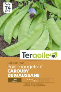 Pois mangetout carouby de maussane - Graines - Teragile
