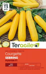 Courgette sebring hybride F1 - Graines - Teragile