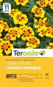 Oeillet d'Inde Légion d'honneur - Graines - Teragile