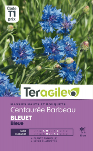 Centaurée Barbeau bleuet bleue - Graines - Teragile