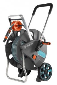 Dévidoir sur roues équipé Aquaroll L Easy GARDENA - Tuyau 30 m