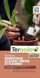 Terreau rempotage plantes UAB Teragile BIOLANDES PIN DECOR - 10 L