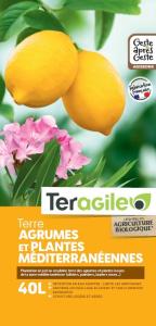 Terreau agrumes et plantes Méditerranéennes Teragile BIOLANDES PIN DECOR - 40 L