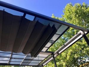 Sous rideau de toit pour tonnelle Azura - Couleurs du Monde - 3,5x4 m