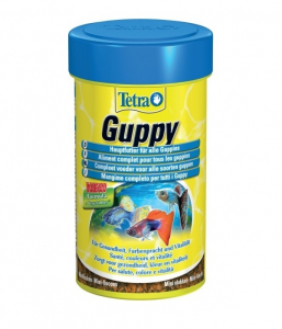 Aliment complet pour guppies Tetra Guppy - Zolux - 100 ml