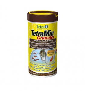 Aliment complet pour poissons tropicaux - Tetra Tetramin Granulés - 500 ml