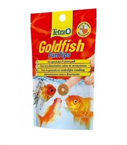 Aliment complet pour poissons rouges Tetra Goldfish FunTips - Zolux - 20 tablettes
