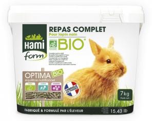 Repas complet pour lapin nain - Hami Form - Optima bio - 7 kg